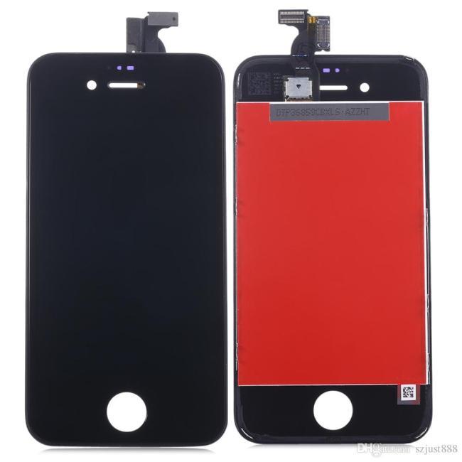 شاشة ايفون 4G لون أسود