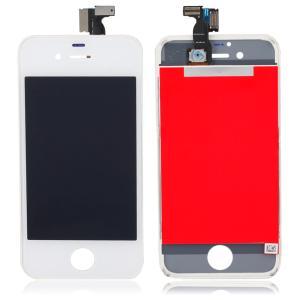 شاشة ايفون 4S لون أبيض