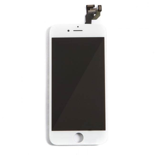 شاشة ايفون SE أبيض