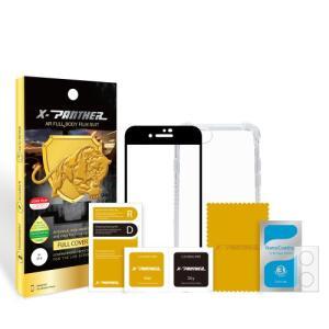 Iphone X حماية الشاشه المتكامله ماركة اكس بانثر مع جراب مضماد للصدمات وحمايه للكاميرا