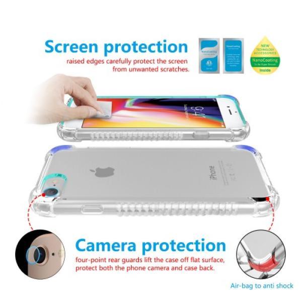 بلس iphone 8  حماية الشاشه المتكامله ماركة اكس بانثر