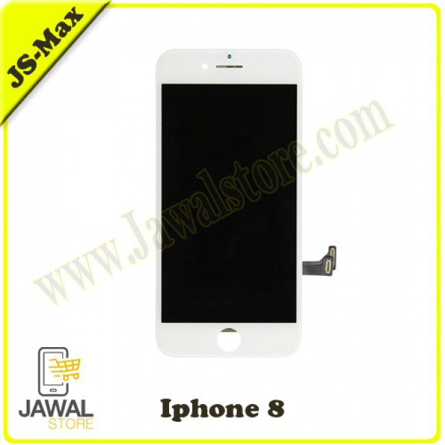 شاشة ايفون 8 أبيض ماكس JS-Max