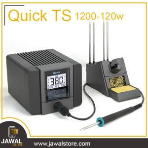 كاوية اللحام الرقمية كويك  TS-1200 A الاحترافية 120 واط