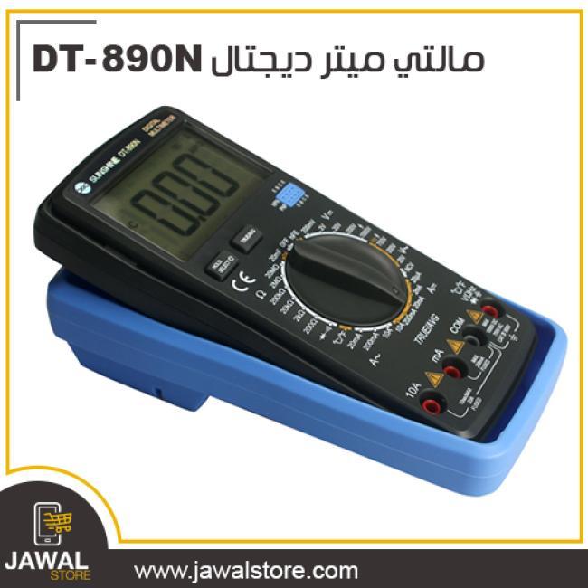 مالتي ميتر ديجتال مزود بثرموستات لقياس درجة الحراره  DT-890N
