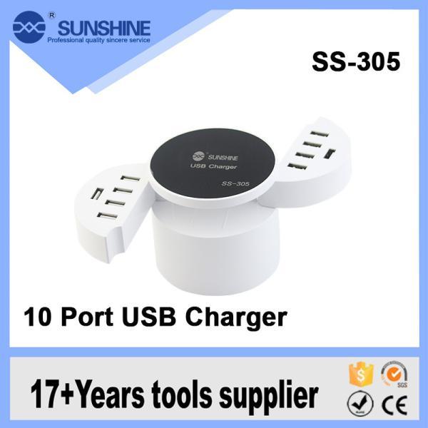 شاحن 10 مخارج   SS-30S - USB