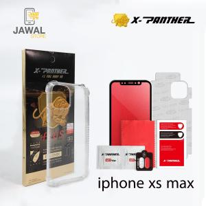 iphone x-max حماية الشاشه المتكامله ماركة اكس بانثر