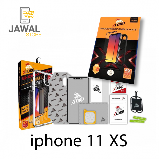 iphone X S  حماية اكس لورد 5 في 1 - XLORD