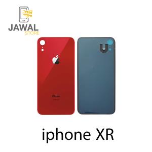 الخلفيه الزجاج لايفون XR باللون احمر
