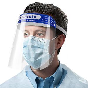 قناع الوجه face shield للحماية من الفيروسات
