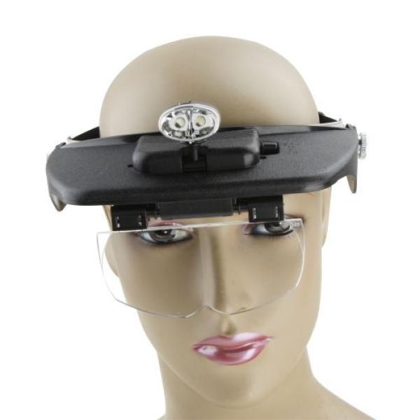 نظارة مكبرة مع مصباح اضاءة   - light head