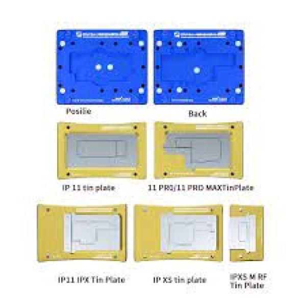 شبلونة احترافية لبوردة الايفون   6 فى 1  IBGA MAX