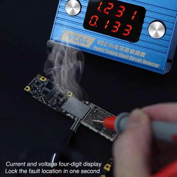 VCC power  short circuit Detector for iPhone+Android VC04