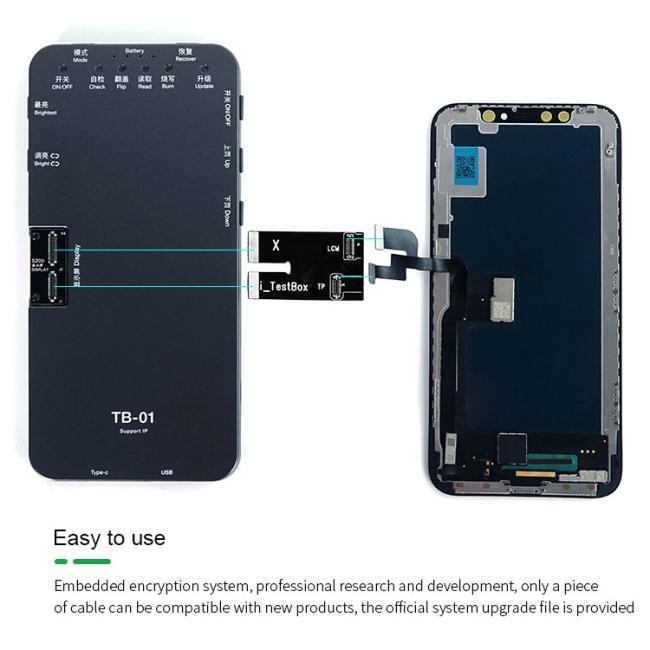 جهاز اختبار شاشات الايفون - RELIFE TB-01 IP TEST BOX TB-01