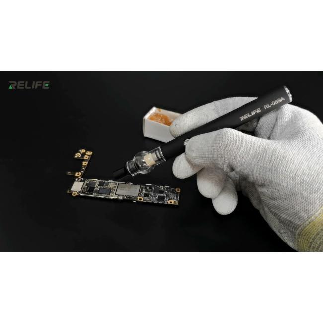 قلم توزيع رجينا - Rosin short circuit detector