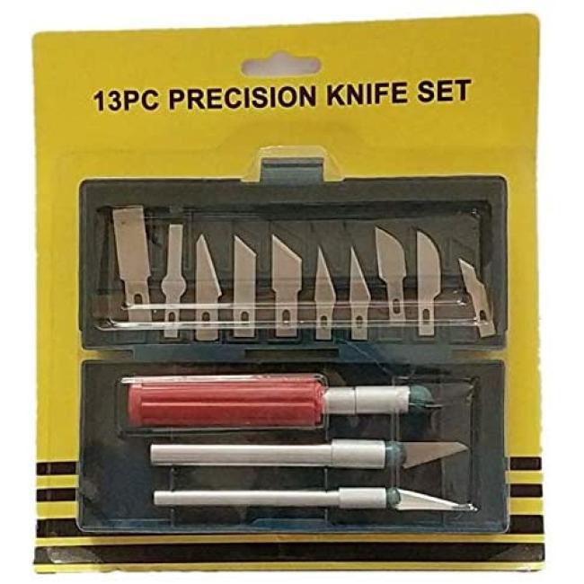 طقم سكاكين دقيق وممتاز 13 قطعة