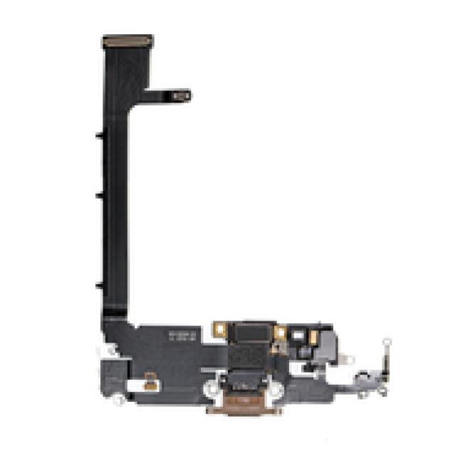 مدخل شحن IPHONE 11pro max USB المرن - أبيض